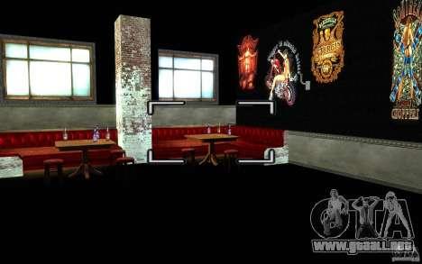 New Bar para GTA San Andreas tercera pantalla