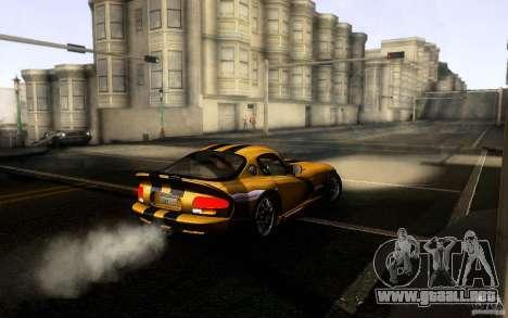 Dodge Viper GTS Coupe TT Black Revel para la visión correcta GTA San Andreas