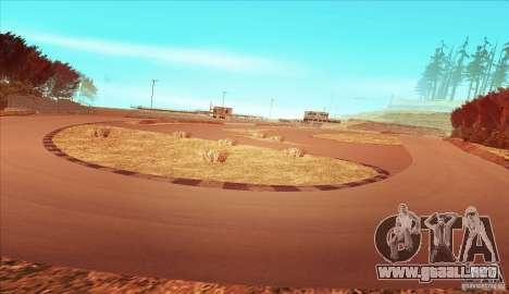 The Ebisu South Circuit para GTA San Andreas tercera pantalla