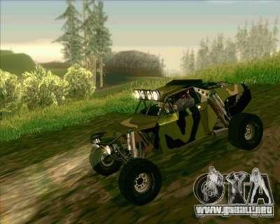 Ickler Jimco Buggy para GTA San Andreas vista hacia atrás