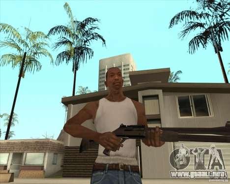 Escopeta automática para GTA San Andreas tercera pantalla
