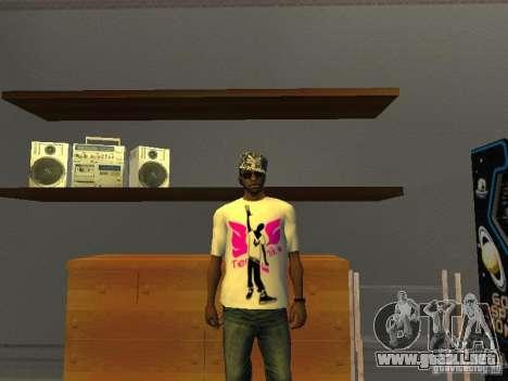 Camiseta tectónica para GTA San Andreas