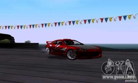 Mazda RX-8 Speed para GTA San Andreas vista hacia atrás