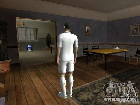 Cristiano Ronaldo para GTA San Andreas segunda pantalla