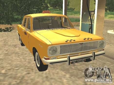 Taxi GAZ 24-01 para GTA San Andreas