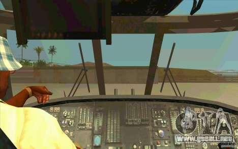 New Raindance para visión interna GTA San Andreas