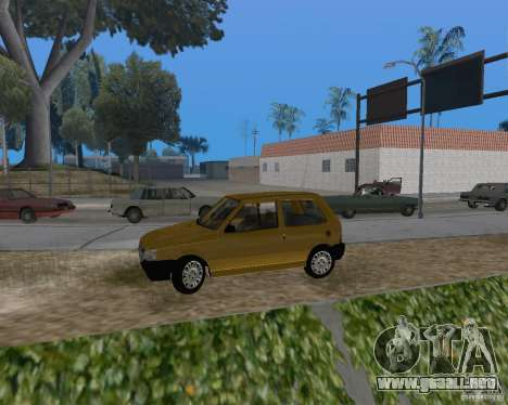 Fiat Mille Fire 1.0 2006 para GTA San Andreas left