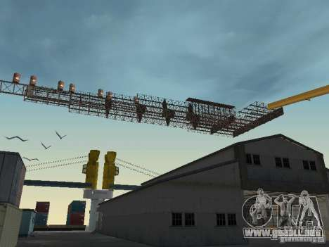Huge MonsterTruck Track para GTA San Andreas tercera pantalla