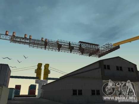 Huge MonsterTruck Track para GTA San Andreas tercera pantalla