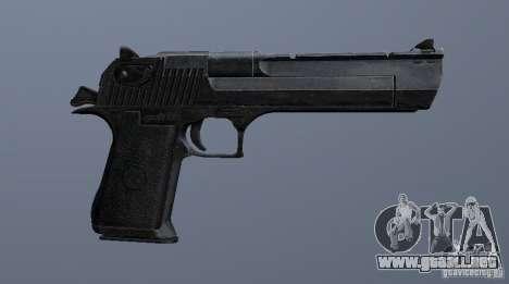 Desert Eagle - New model para GTA San Andreas sucesivamente de pantalla