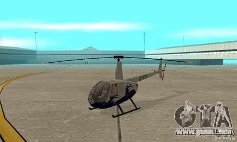 Robinson R44 Raven II NC 1.0 piel 4 para GTA San Andreas left