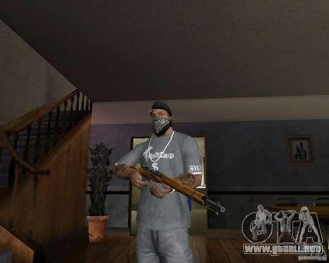 Escopeta M511 para GTA San Andreas