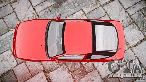 Nissan 240SX para GTA 4 vista superior