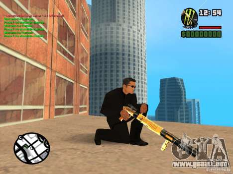 Gun Pack by MrWexler666 para GTA San Andreas segunda pantalla