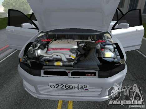 Mitsubishi Legnum para GTA San Andreas vista posterior izquierda