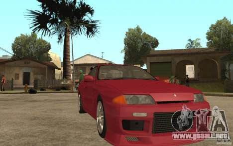 Nissan GTS-T 32 Beta para GTA San Andreas vista hacia atrás