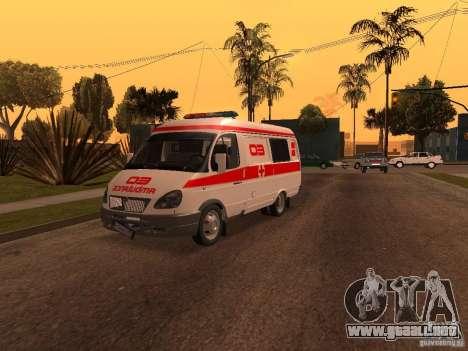Ambulancia gacela para GTA San Andreas