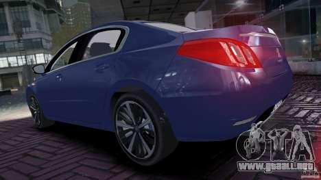 Peugeot 508 Final para GTA 4 visión correcta