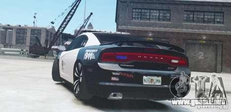 Dodge Charger 2011 Police para GTA 4 visión correcta