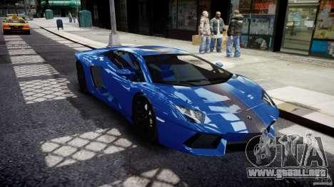 Lamborghini Aventador LP700-4 2011 [EPM] para GTA 4 vista interior