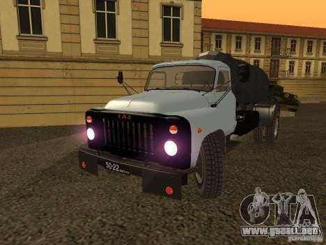 GAZ 53 Flusher para GTA San Andreas