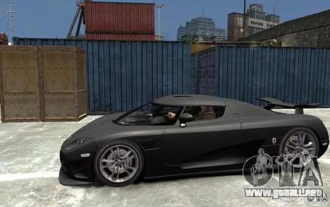 Koenigsegg CCXR Edition V1.0 para GTA 4 left