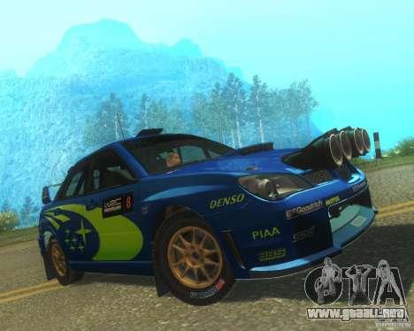 Subaru Impreza WRX STI DIRT 2 para GTA San Andreas