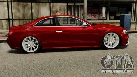 Audi RS5 2012 para GTA 4 left