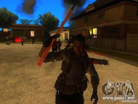 Animation Mod para GTA San Andreas séptima pantalla