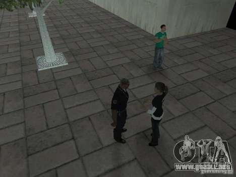 SFnews o la oportunidad de dar una entrevista para GTA San Andreas tercera pantalla