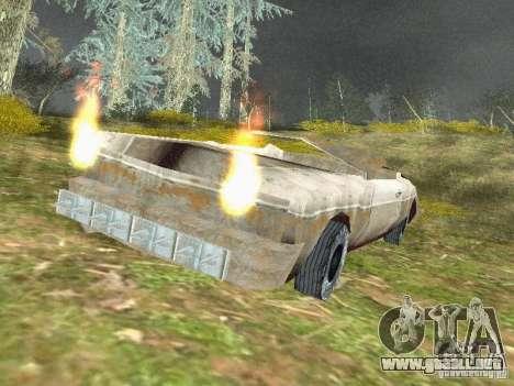 GhostCar para GTA San Andreas segunda pantalla