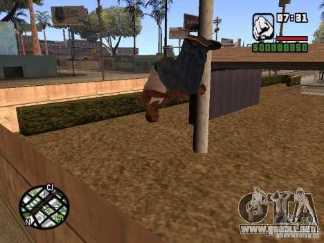 ACRO Style mod by ACID para GTA San Andreas tercera pantalla