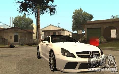 Mercedes-Benz SL65 AMG BS para GTA San Andreas vista hacia atrás