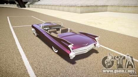 Cadillac Eldorado 1959 interior black para GTA 4 visión correcta