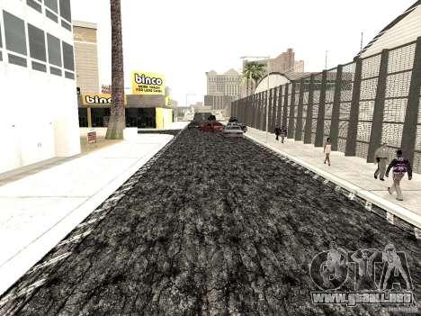 New roads in Las Venturas para GTA San Andreas sucesivamente de pantalla