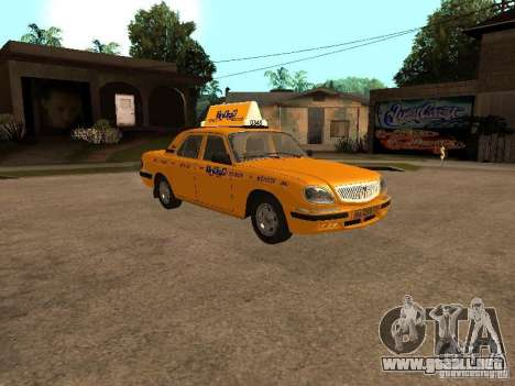 Volga GAZ-31105 Taxi para GTA San Andreas