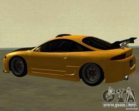 Mitsubushi Eclipse GSX tuning para la visión correcta GTA San Andreas