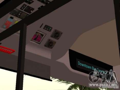 Volvo B7L para visión interna GTA San Andreas