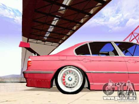 BMW 740i Tuned For Drift para GTA San Andreas left