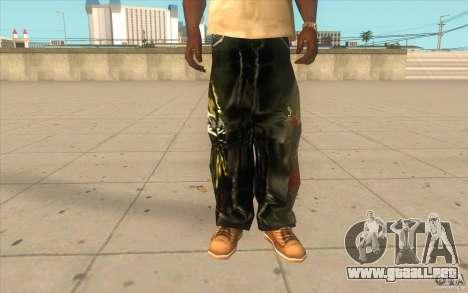 Hip-hop jeans para GTA San Andreas