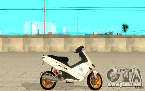 Gilera Runner 50SP Skin 3 para GTA San Andreas left