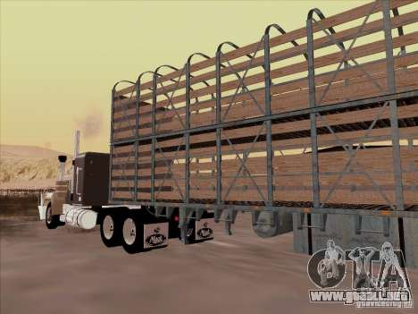 Trailer de Mack RoadTrain para GTA San Andreas left