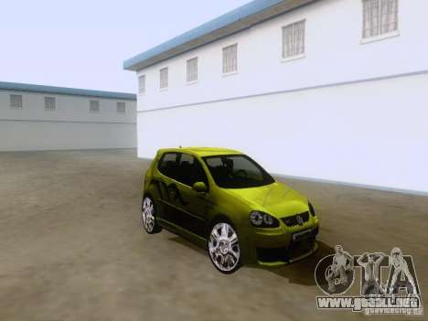 Volkswagen Golf V GTI para GTA San Andreas left