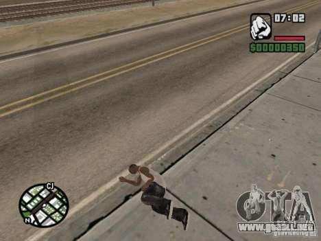 Dormir para GTA San Andreas tercera pantalla