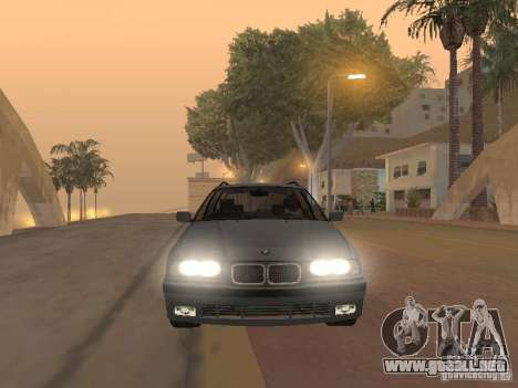 BMW 318 Touring para vista lateral GTA San Andreas