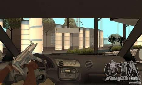 Acura RSX New para visión interna GTA San Andreas
