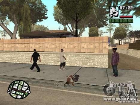 Dormir para GTA San Andreas segunda pantalla