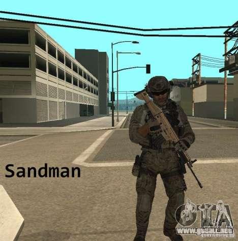 Frost and Sandman para GTA San Andreas sucesivamente de pantalla