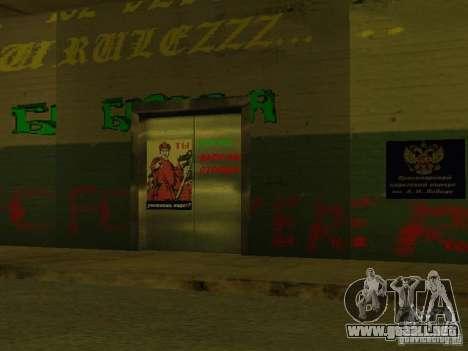 Cuerpo de cadetes de Krasnoyarsk para GTA San Andreas octavo de pantalla