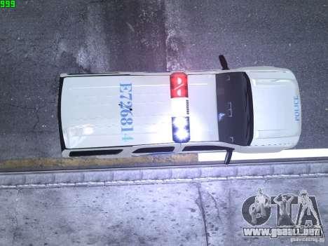 Chevrolet Tahoe Homeland Security para GTA 4 visión correcta